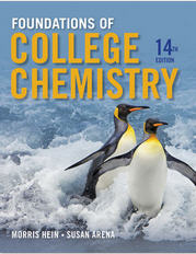 Foundations of College Chemistry Hein 14th Edition