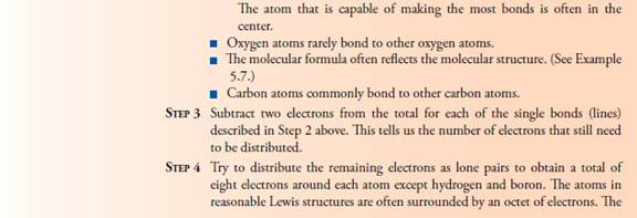 Module 4 Part B Dot Structures Of Molecules Study Notes